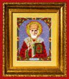 Icon St.Nicholas Stock Photos