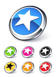 Icon star Stock Image