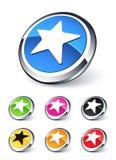Icon star Stock Image