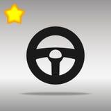 Icon steering wheel Stock Photo