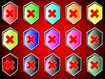 Icon Stop Royalty Free Stock Photos