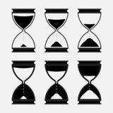 Icon strategy, chess figure, black round,. Icon strategy, chess figure, black round  image Stock Image