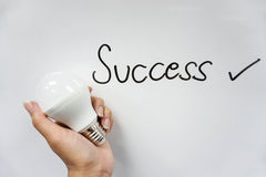 Icon of success Stock Images