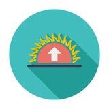 Icon sunrise Stock Photo