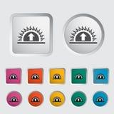 Icon sunrise Royalty Free Stock Image
