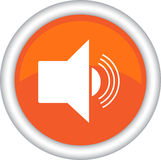 Icon, symbol, radio, sound. Royalty Free Stock Image
