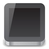 Icon for tablet computer Stock Photos
