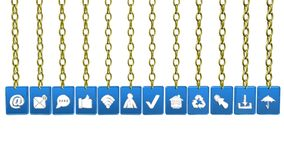 Icon tags,video animation
