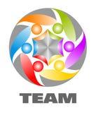Icon of team Stock Photo