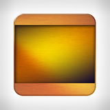 Icon template for applications Royalty Free Stock Images
