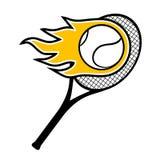 Icon tennis Royalty Free Stock Photos