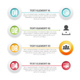 Icon Text Placement Copyspace Design Element Stock Photo