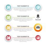 Icon Text Placement Copyspace Design Element Stock Photo