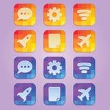 Icon Tile Disco Stock Photos