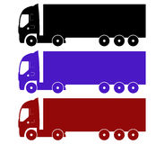Icon truck Stock Images