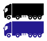 Icon truck Stock Photography