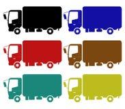 Icon truck Stock Image