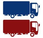 Icon truck Royalty Free Stock Photos