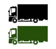 Icon truck Royalty Free Stock Image