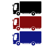 Icon truck Stock Photos
