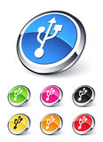 Icon usb Royalty Free Stock Photo