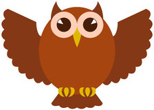 Icon vector Owl Stock Photo