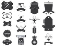 Icon of Vector Retro Badges, Logos, Labels Stock Images