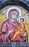 Icon of the Virgin and Child Royalty Free Stock Photos
