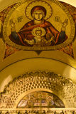 Icon of The Virgin Mary on Patriarchal residency Royalty Free Stock Photography