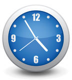 Icon wall clock. Vector icon  wall clock, it is easy to change and edit Stock Photos