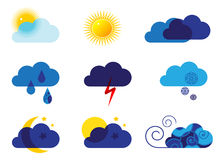 Icon weather. royalty free illustration