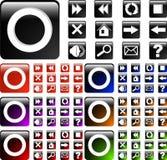 icon web Στοκ Εικόνες