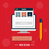 Icon for web design, seo, social media Royalty Free Stock Image