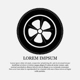 Icon wheel, tire, repair Stock Photo