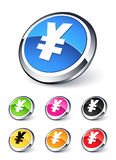 Icon yen Royalty Free Stock Images