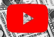 Youtube icon logo money