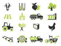 Icona agricola Fotografie Stock