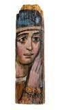 Icona antica di vergine Maria Fotografia Stock