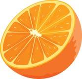 Icona arancio Immagine Stock Libera da Diritti