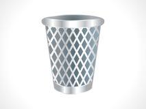 Icona astratta dei rifiuti Fotografie Stock Libere da Diritti