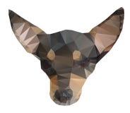 Icona astratta del cane Fotografia Stock Libera da Diritti