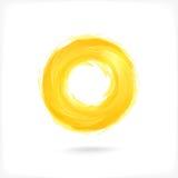 Icona astratta del cerchio di affari. Immagine Stock