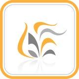 Icona astratta di Internet di vettore Fotografia Stock