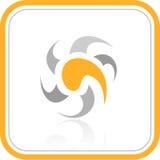 Icona astratta di Internet di vettore Immagine Stock