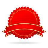 Icona in bianco rossa del premio Immagine Stock Libera da Diritti