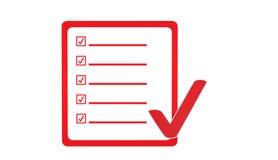 Icona certificata Immagine Stock Libera da Diritti
