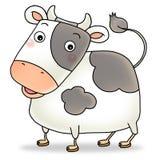 icona cinese 02 di nuovo anno 12 - mucca illustrazione vettoriale