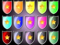 Icona con la stella royalty illustrazione gratis