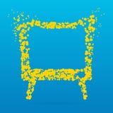 Icona creativa del punto Immagine Stock