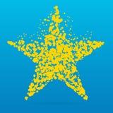 Icona creativa del punto Fotografie Stock Libere da Diritti
